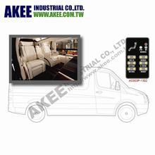 Luxury van seating control, deluxe seat control, luxury car seat control