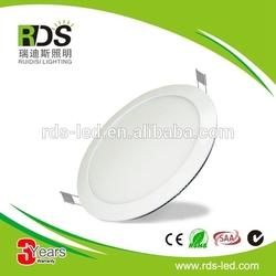 CE ROHS Free Sample 1500lm round led panel light 18w,ultra thin led light panel