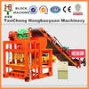 QTJ4-28 automatic hormigon brick making machine price& soil cement block making machine make in china