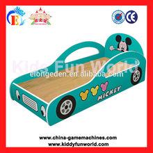 Children Bedroom furniture, school beds for kids car shape baby bed kids train bed