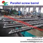 low price 90mm bimetallic twin parallel screw barrel for compounding machine