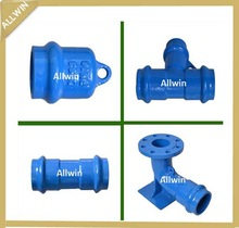 Ductile iron Pipe Fittings for PVC Pipes