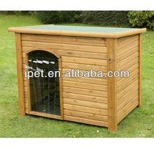 Wooden dog kennel cage DK012M