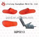 2014new unique design PVC air blowing slipper mould GQP0213