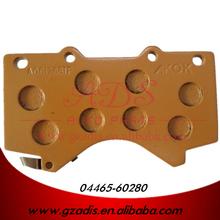 FOR GRJ200/UZJ200/LAND CRUISER BRAKE PAD FOR TOYOTA CARS OEM: 04465-60280