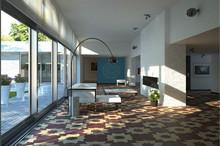 China jiangsu Handmade solid wood floor /art parquet wood flooring