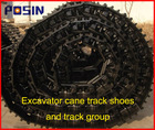 High quality undercarriage parts track shoe/Excavator track pad/Excavator track shoe and track group
