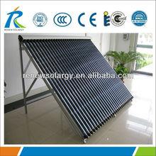 Non pressure all glass 20 vacuum tubes Solar Heating Panels