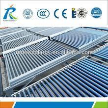 Non pressure all glass 18 vacuum tubes Solar Heating Panels