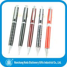 Metal Pens, Engraved twist mechanism Promotional custom pen logo