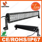 Wholesale 120w cree 21.5'' Dual bull bar light for 4X4/Truck/Offroad/SUV/Heavy duty Machine led light bars