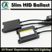 High quality AC 35W slim HID ballast xenon HID conversion kits
