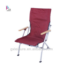 hot in Korea bamboo armrest outdoor camping relax chair