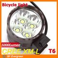 de seguridad 2014 5000 led lumen bike luz de la bicicleta luz