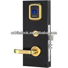 Orbita split led display design hotel key door lock