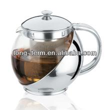 LTK082 Heat Resistant Stainless Steel Tea Pot