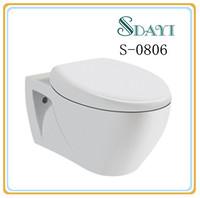Ceramic Sanitary Ware Cheap P-trap Wall Hung Toilet