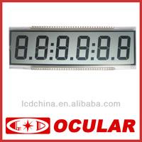 6-digit LCD Display