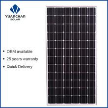 YuanChan Monocrystalline 200W Solar Panel Price India