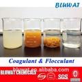 Coagulants y Flocculants para de tratamiento de agua