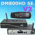 Dm800hd se-v2 novos receptordesatélitetv construir- no módulo wifi apoio wifi antena/2.2 sim card para europea