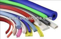 fireproof rubber foam tube/silicone rubber foam tube/foam tube