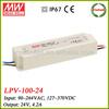 Meanwell LPV-100-24 100w led driver 24v smps