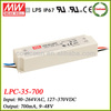 LPC-35-700 35w Meanwell led driver 700ma