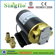 hot sale 12V mini gear oil pump/hydraulic gear pump/gear pump