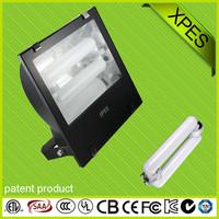 wide voltage waterproof football/basketball field adjustable 80w-250w induction flood light