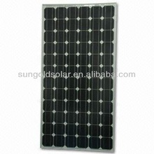2014 newest solar panel 200w 12v PV module solar power system china manufacturer