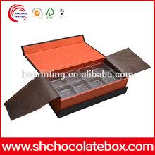 Custom Luxury Cardboard Paper Gift Chocolate Packaging Box