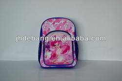 2014 new design cute carton 3D effect Children backpack/school bag