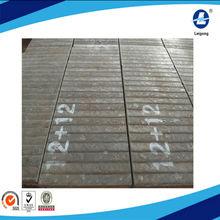 High quality 12+12 welding double metal wear steel plate