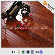 8mm AC3/AC4 best price outdoor texture walnut laminate wood flooring