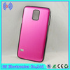 New Products mobil cover for Galaxy S5 Brushed Hard Shell metal phone case