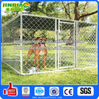 Hot dipped galvanised chain link dog cage/pet kennel