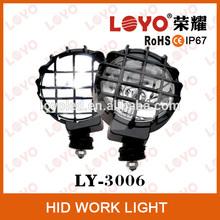 H3 6'' 4wd hid work light 12V 35W 55W spot beam 55W motorcycle hid xenon light, auto car hid xenon light