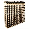144 bottles perfect for commercial use antique wooden wine rack