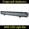 Good news Cheap Led Light Bar 60W LED LIGHT BAR 10-30V DC ATV, UTV, Truck accessories