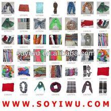 Guangzhou Scarf Pashmina manufacturer wholesaler from Yiwu Market for Scarf & Scarves