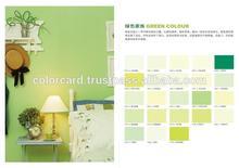 Environmental Green Color Card