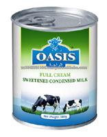 OASIS SWEETENED CONDENSED MILK AND EVAPORATED MILK