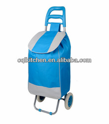 hot sale classic foldable shopping trolley bag in different colors