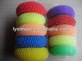 coloridos de plástico de limpeza bola