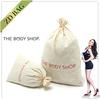 Recycle drawstring cotton dust bag,drawstring cotton bag,blank cotton drawstring bag