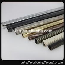 decorative aluminium fancy curtain rods