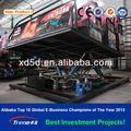 Jinete x, 4d, 5d cine móvil máquina de juego, 5d sistemas de cine, teatro 5d