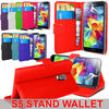Leather stand wallet mobile phone case cover for Samsung galaxy S5