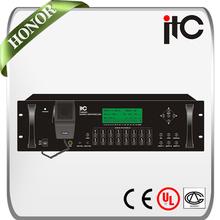 ITC T-6600 8*16 Matrix Internal MP3 Player Programmable School Broadcasting System